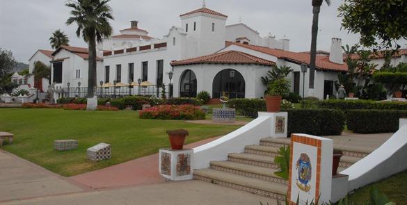 Centro Social, Cívico y Cultural Riviera de Ensenada. Foto Cortesía