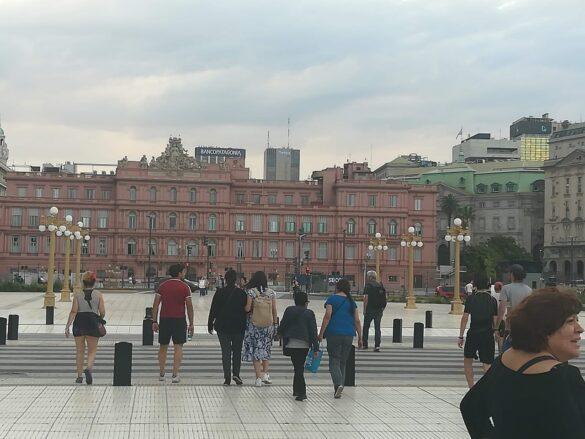 Casa Rosada sede del gobierno argentino.