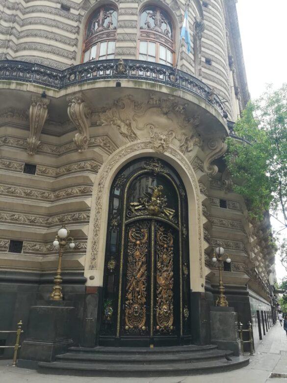 Edificio estilo francés Siglo XIX.