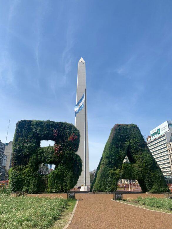 El Obelisco Avenida 09 de Julio.