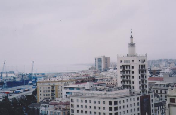 Vista de Málaga.