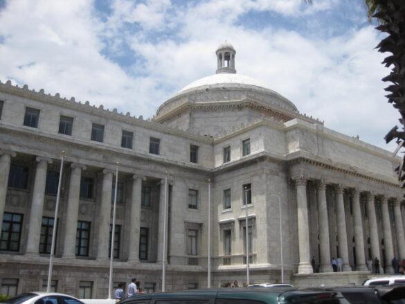 El Capitolio de San Juan Puerto Rico.