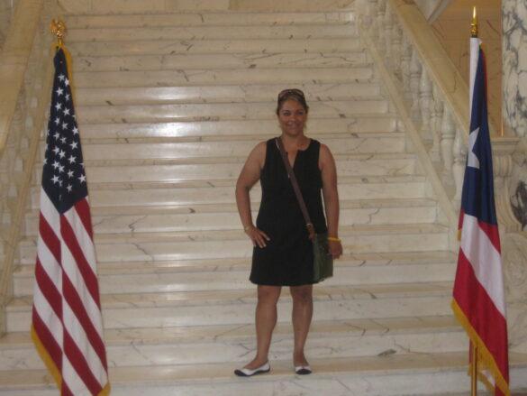 Interior del Capitolio de San Juan Puerto Rico.
