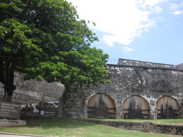 El Castillo de San Cristóbal.