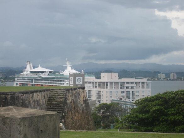 Vista desde el Castillo de San Felipe del  Morro.