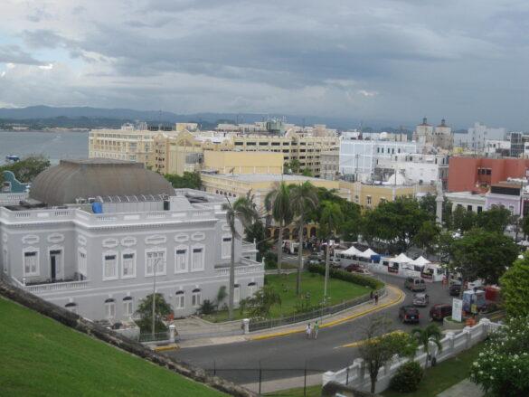 Vista del Viejo San Juan.