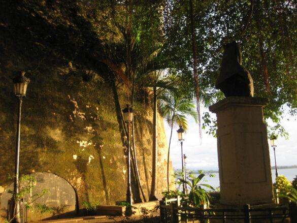 Un atardecer en San Juan.