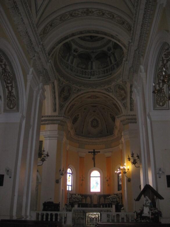 Altar Catedral Metropolitana Basílica San Juan Bautista.