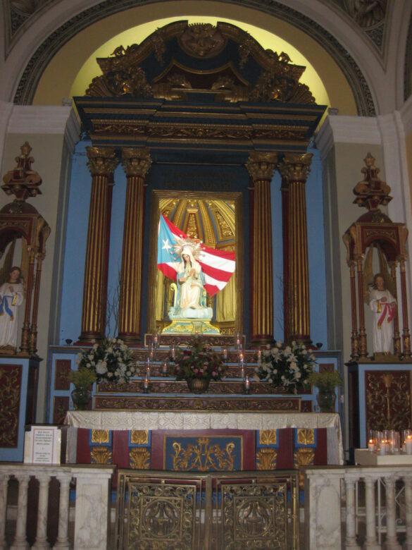 Nuestra Señora de la Divina Providencia Patrona de Puerto Rico.