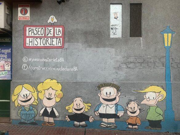 Paseo de la Historieta.